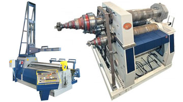 Pinch Plate Bending Machine
