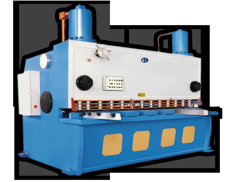 Steel Cutting Equipment : Cmf cs hydraulic guillotine shear line c marshall