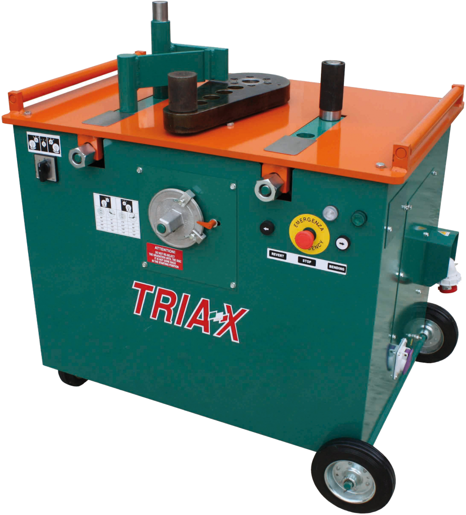 TRIAX Heavy Duty Bender, Model PFX55 – 100% made in Italy